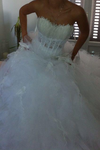 Robe de mariée Cymbeline neuve taille 34/36