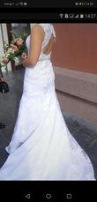 Robe de mariée dentelle dos nu  - Occasion du Mariage