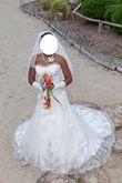 Robe de mariée de chez Complicité mariage modèle Comète d'occasion