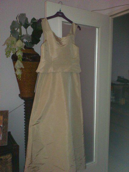 Robe de cérémonie d'occasion Empire du Mariage