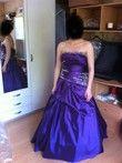 Robe de mariée de princesse violette neuve et pas cher - Occasion du Mariage