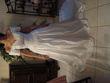Robe de mariée Miss Kelly T38 d'occasion et longue traîne