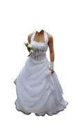 robe de mariée blanche - Saône (Haute)