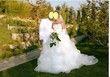 ROBE DE MARIEE en organza de soie blanche pas cher d'occasion 2012 - Provence Alpes Côte d'azur - Bouches du Rhône - Occasion du Mariage