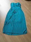 robe turquoise XS TFNC - Occasion du Mariage