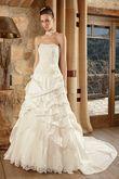 Robe de mariée JUZA T40/42 + Accessoires - Occasion du Mariage