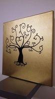 arbre à empreintes sur toile en coton  - Occasion du Mariage