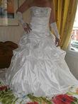 Robe de mariée+jupon+gants - Occasion du Mariage