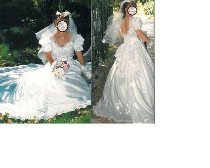 Robe de mariée taille 38 d'occasion
