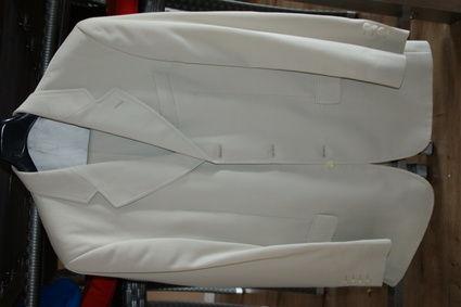 Costume crème marque Cudell St Raphael
