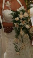 Robe de mariée Ecru type sirène T38 - Occasion du Mariage