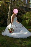 Robe de mariée T38 + jupon - Occasion du Mariage