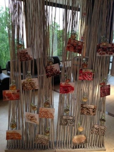 Lot fioles verre pour plan de table de mariage