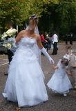 Robe  de mariée blanche en organza d'occasion