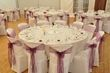 Nappes rondes blanches - Occasion du Mariage