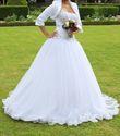 Robe de mariée avec boléro - Occasion du Mariage