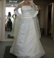 Robe ivoire taille 36/38 - Occasion du Mariage