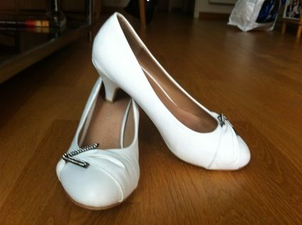 Chaussures blanches - Occasion du Mariage
