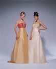 robe de mariée cuivre et or - Occasion du Mariage