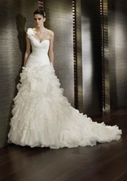 Robe de mariée originale San Patrick Capricho pas cher - Occasion du mariage