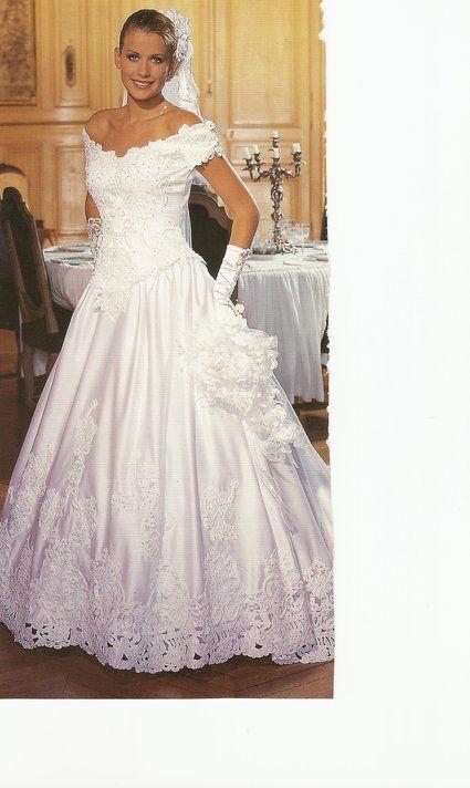 Robe de mariée d'occasion blanche + accessoires 2012 - Occasion du Mariage