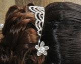 Diadème de mariée pas cher avec strass - Occasion du Mariage