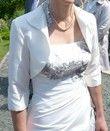 robe de mariage Annie couture en 38 - modèle Adorée 2014 - Occasion du Mariage