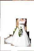 Magnifique robe de mariée Tiffany Haguenau avec jupon et étole