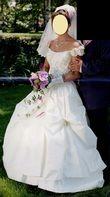 robe HOSANA ivoire et dorée - Occasion du Mariage