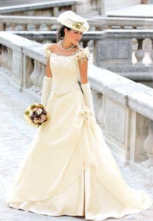 magnifique robe de mari e champ tre ivoire d 39 occasion. Black Bedroom Furniture Sets. Home Design Ideas