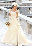 Magnifique Robe de mariée champêtre ivoire d'occasion