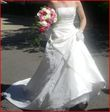 Robe de mariée ivoire - état neuve T petit 36 - Occasion du Mariage