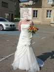 Robe de mariée en satin - Occasion du Mariage