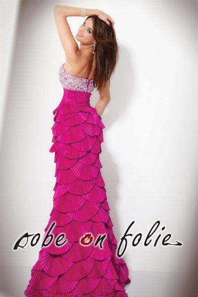 Le chant de sirène - luxueuse robe de cérémonie longue pas cher d'occasion 2012 - Ile de France - Yvelines - Occasion du Mariage