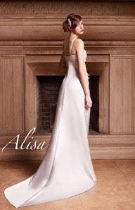 Robe de mariée Grace en satin duchesse perlés création ALISA d'occasion - Alpes Maritimes