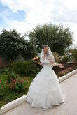 Robe de mariage Pronuptia - bustier + jupe + voile + jupon