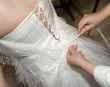 Robe de mariée étincellante unique de créateur T36-38 - Occasion du Mariage