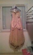 robe de mariée beige et or T36 - Occasion du Mariage