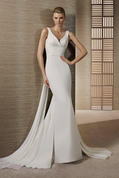 Robe de mariée Terso White One + boléro Pronovias Tchaqueta