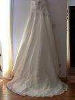 Robe de mariée bustier d'occasion de chez Point Mariage