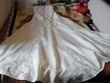 Robe de mariée unique faite sur mesure modèle Aurora couleur ivoire