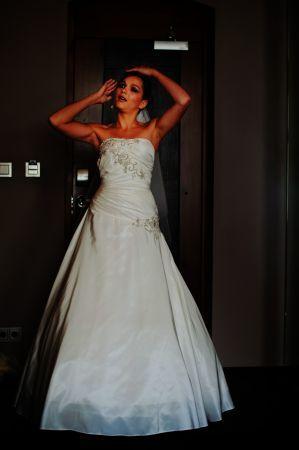 Robe de mariée Justin Alexander d'occasion