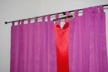 Robe en soie pas cher, dos nu perlée d'occasion - Occasion du mariage