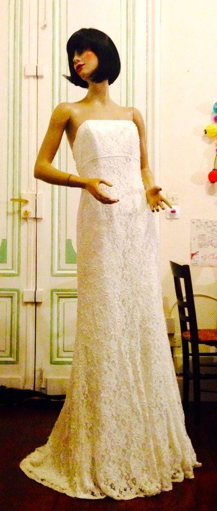 robe de mari e galina taille 38 d 39 occasion couleur ivoire