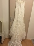 Robe de mariée Pronovias forme sirène en bustier  - Occasion du Mariage