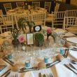 Vases roses pour décoration de table mariage - Occasion du Mariage
