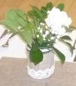 Vases dentelle/jute vintage - Occasion du Mariage