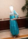Karakou Algérois - Bleu Turquoise - Occasion du Mariage