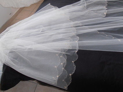 Très long voile mariée pas cher - Occasion du mariage