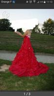 Robe de mariée rouge 38/40 - Occasion du Mariage